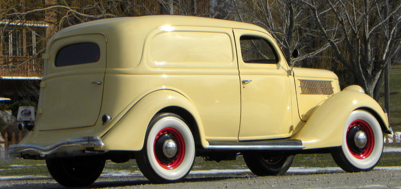 1936 Ford Delivery Image 4