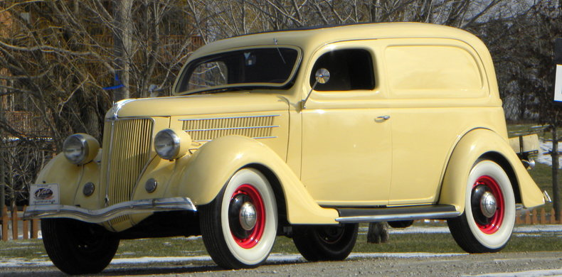 1936 Ford Delivery Image 9