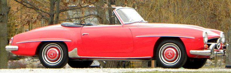 1958 Mercedes-Benz 190SL Image 6