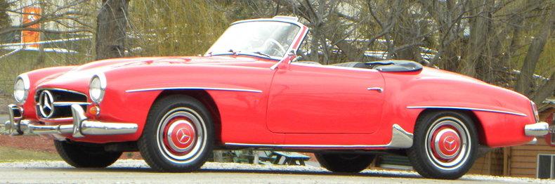 1958 Mercedes-Benz 190SL Image 21
