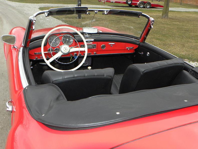 1958 Mercedes-Benz 190SL Image 23