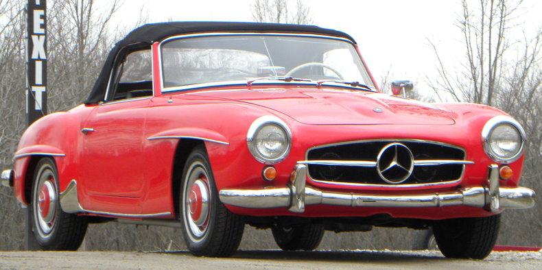 1958 Mercedes-Benz 190SL Image 46