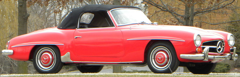 1958 Mercedes-Benz 190SL Image 48