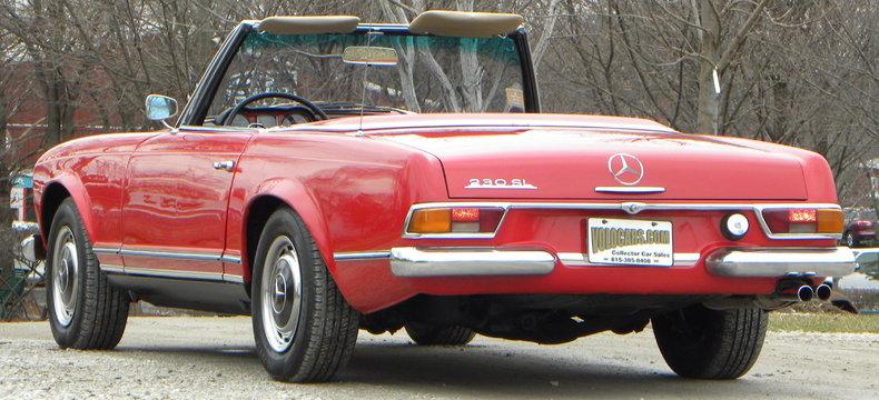 1965 Mercedes-Benz 230SL Image 34