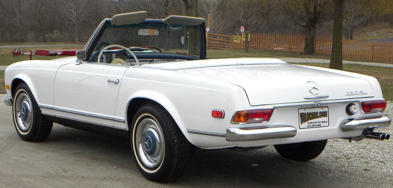 1968 Mercedes-Benz 250 SL Image 17