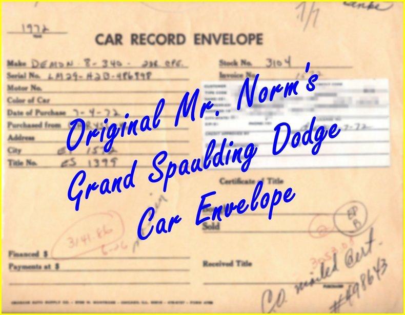 1972 Dodge Dart Image 111