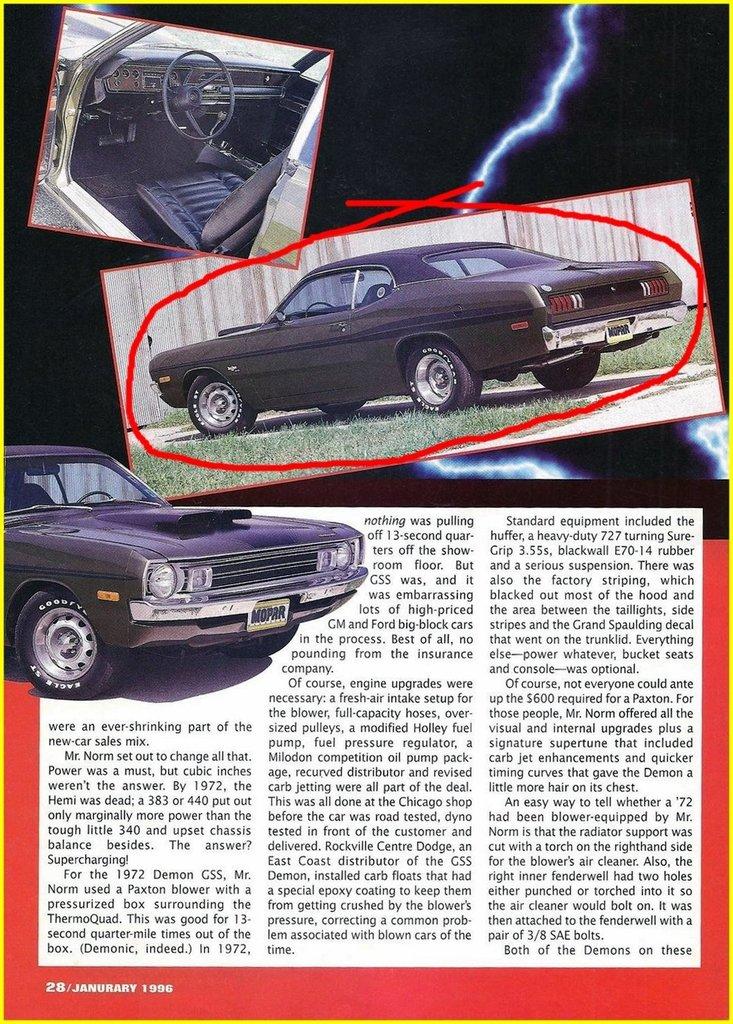 1972 Dodge Dart Image 113