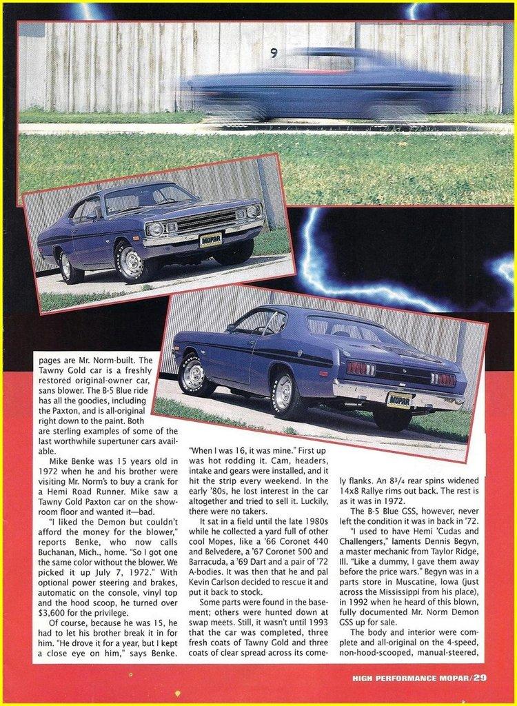 1972 Dodge Dart Image 114