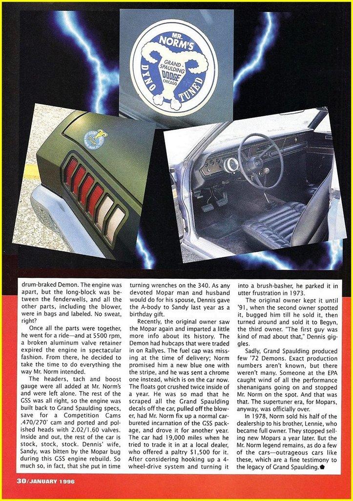 1972 Dodge Dart Image 115