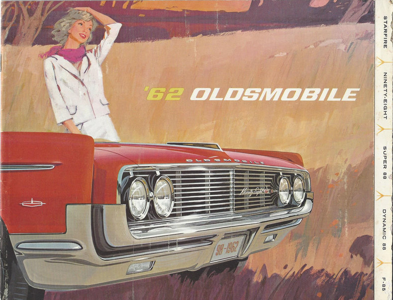 1962 Oldsmobile Starfire Image 101