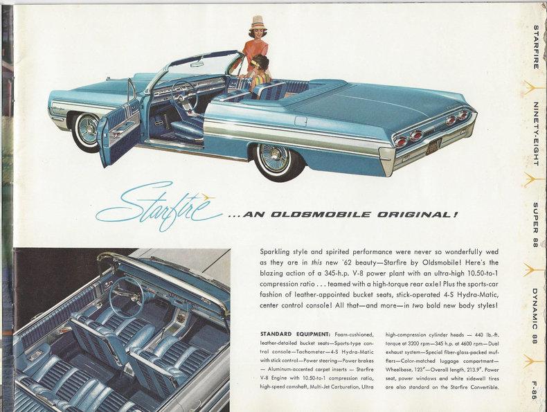 1962 Oldsmobile Starfire Image 102