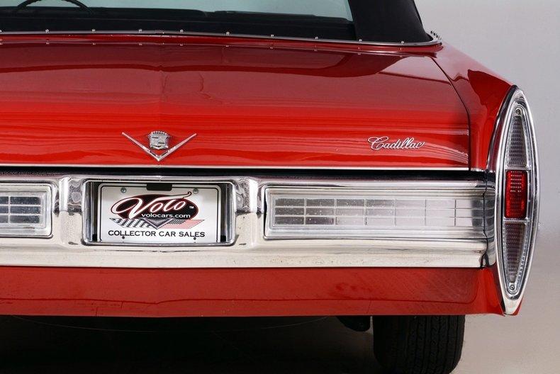 1967 Cadillac deVille Image 80