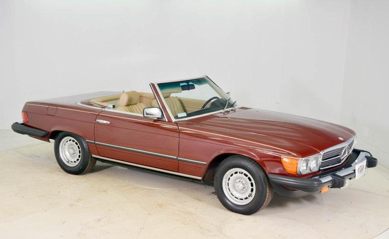 1982 Mercedes-Benz 380SL Image 9