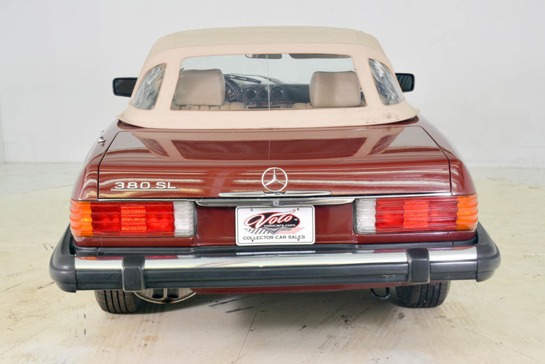 1982 Mercedes-Benz 380SL Image 55