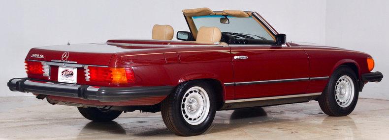 1982 Mercedes-Benz 380SL Image 20