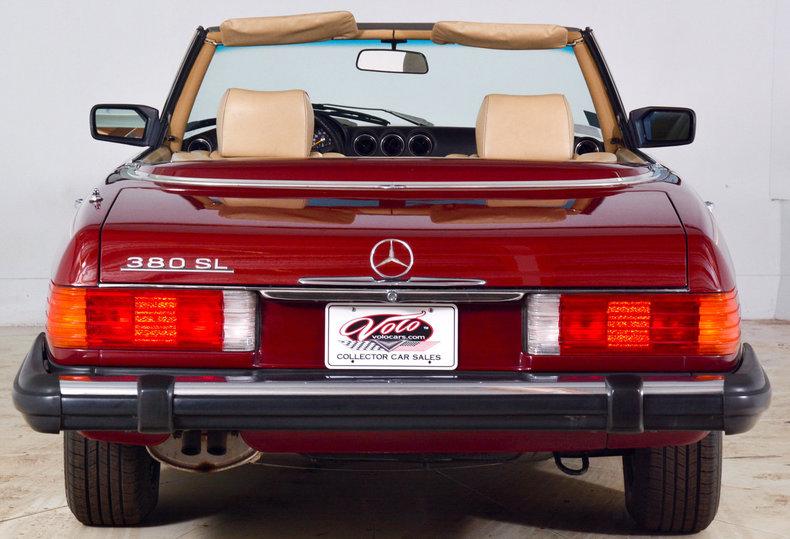 1982 Mercedes-Benz 380SL Image 48