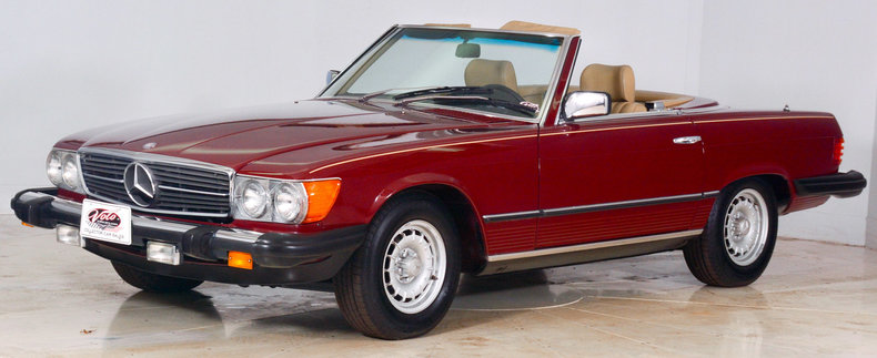 1982 Mercedes-Benz 380SL Image 56
