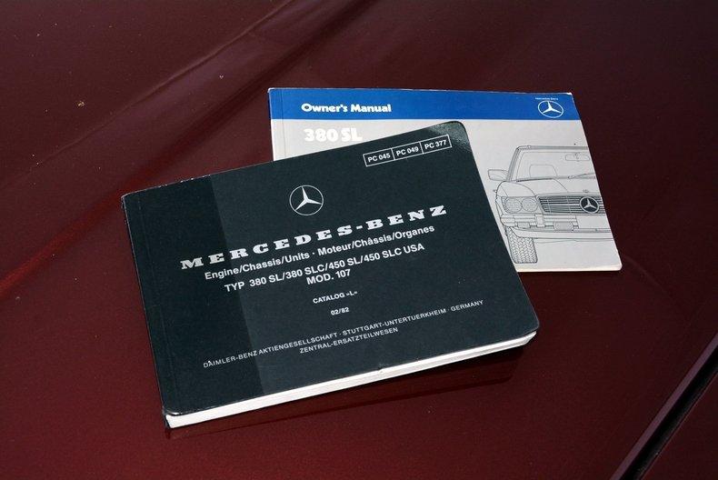 1985 Mercedes-Benz 380SL Image 11
