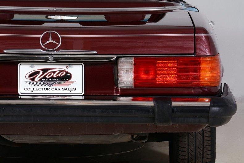 1985 Mercedes-Benz 380SL Image 65