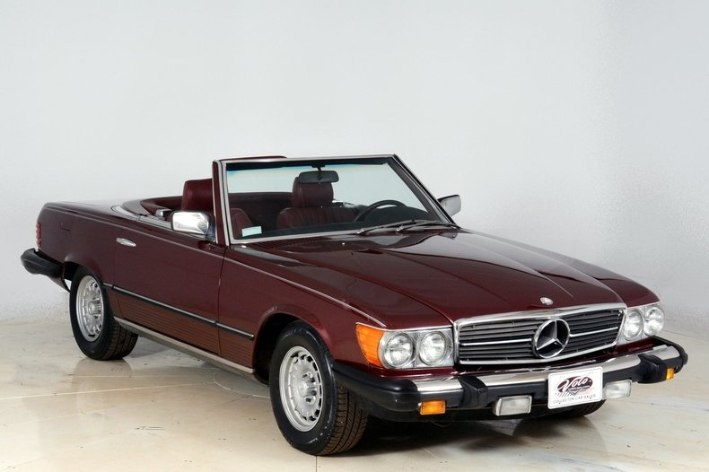 1985 Mercedes-Benz 380SL Image 97
