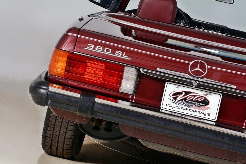 1985 Mercedes-Benz 380SL Image 98