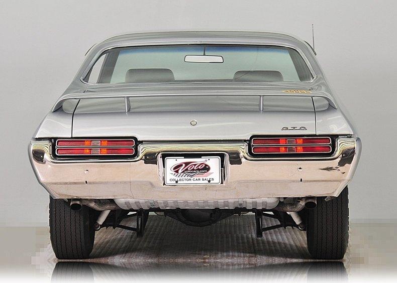 1969 Pontiac GTO Image 6