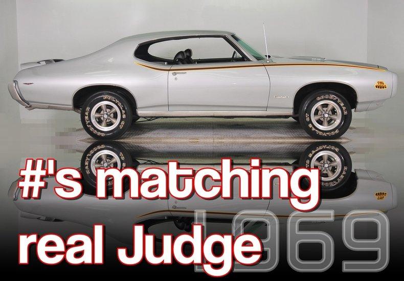 1969 Pontiac GTO Image 9