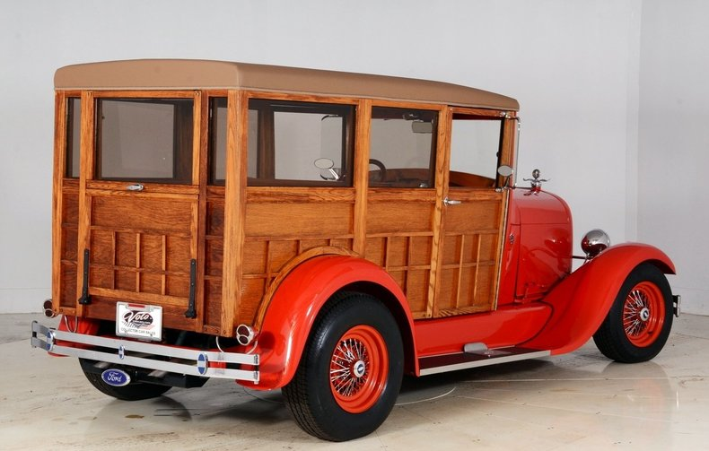 1929 Ford Woody Wagon Image 3