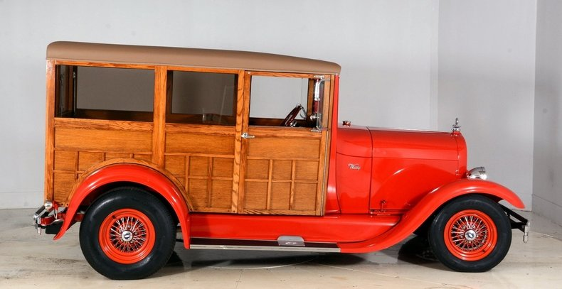1929 Ford Woody Wagon Image 17
