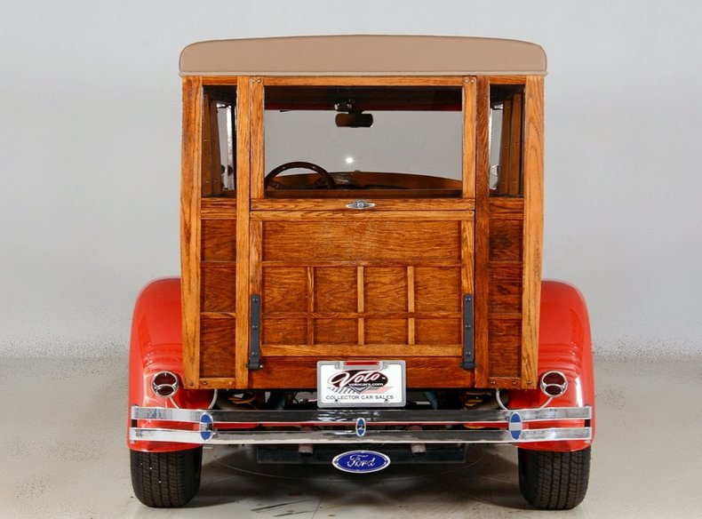 1929 Ford Woody Wagon Image 25