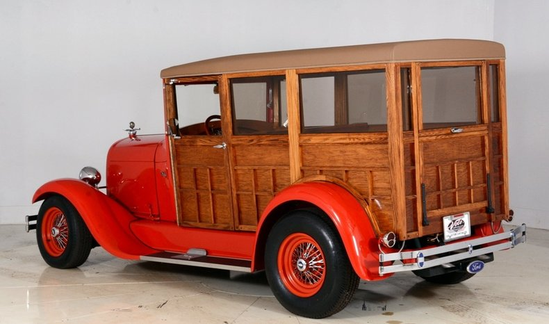 1929 Ford Woody Wagon Image 33