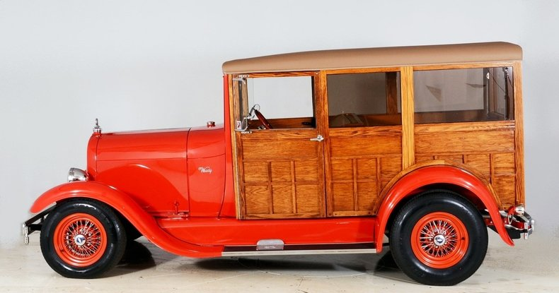 1929 Ford Woody Wagon Image 41