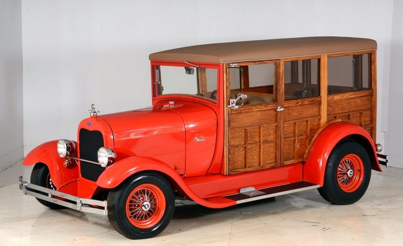 1929 Ford Woody Wagon Image 49
