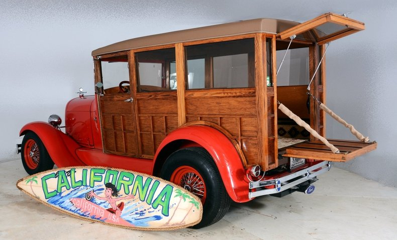 1929 Ford Woody Wagon Image 65