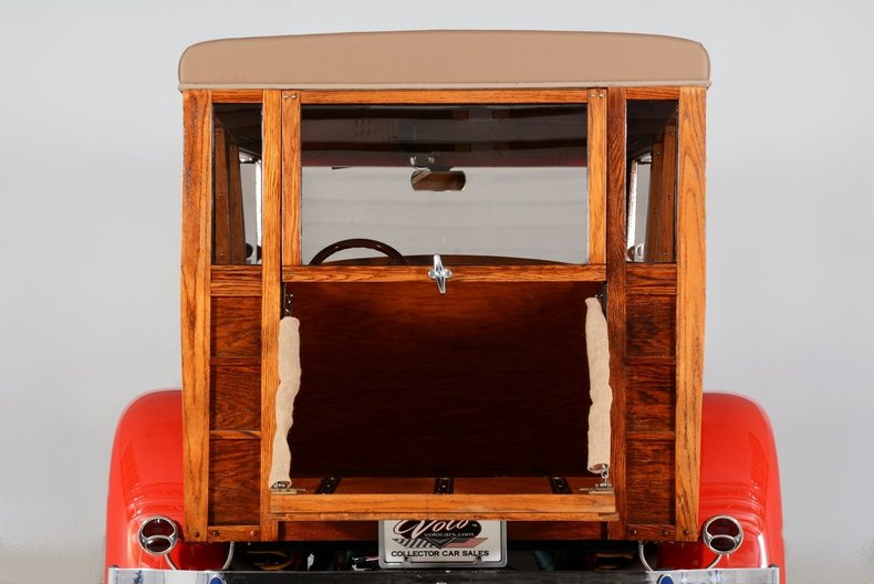 1929 Ford Woody Wagon Image 99