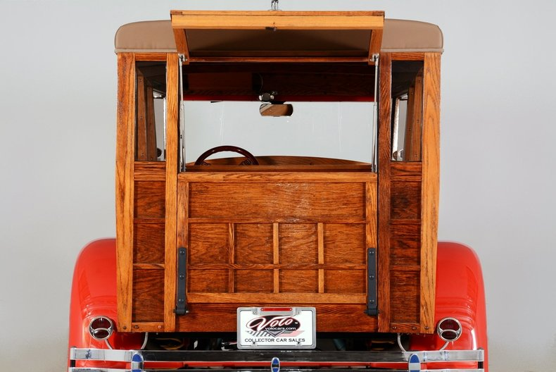 1929 Ford Woody Wagon Image 100