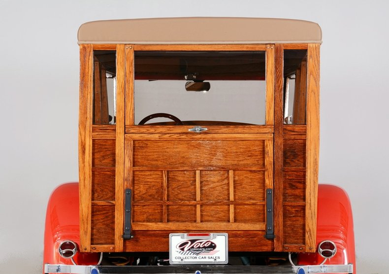 1929 Ford Woody Wagon Image 101