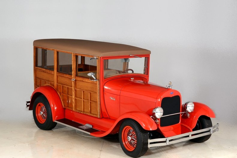 1929 Ford Woody Wagon Image 111