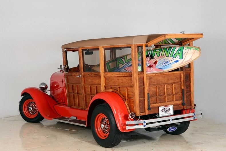 1929 Ford Woody Wagon Image 112