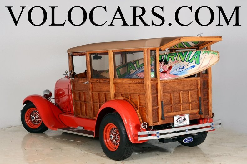 1929 Ford Woody Wagon Image 1