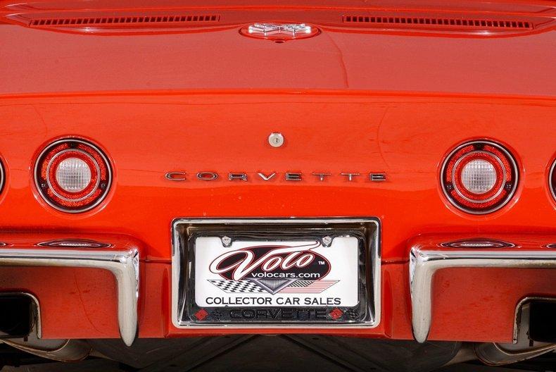 1972 Chevrolet Corvette Image 78