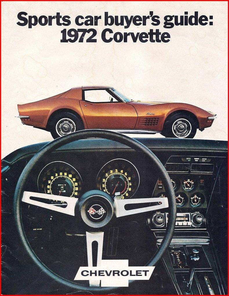 1972 Chevrolet Corvette Image 80