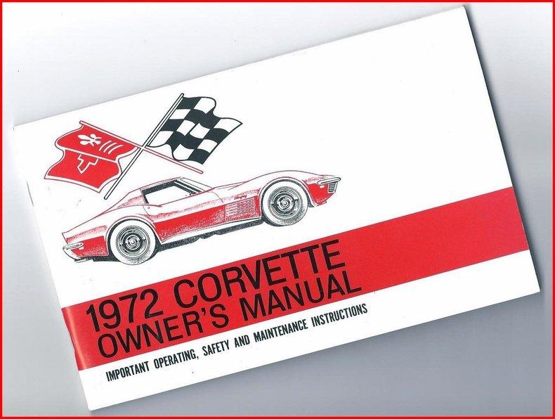 1972 Chevrolet Corvette Image 82