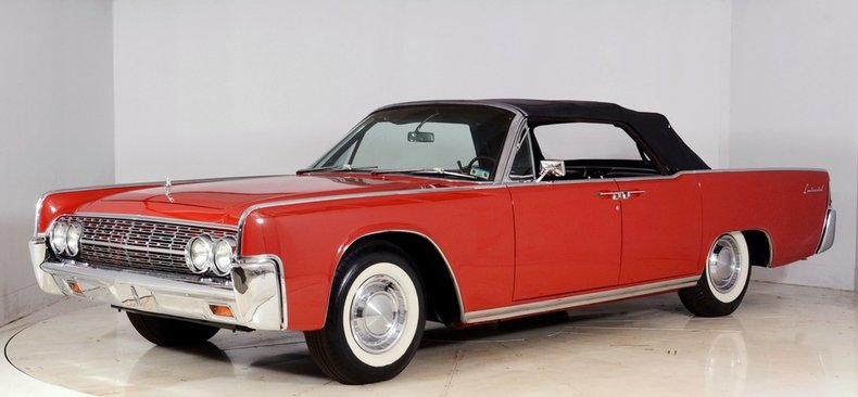 1962 Lincoln Continental Image 25