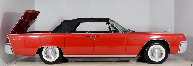 1962 Lincoln Continental Image 57