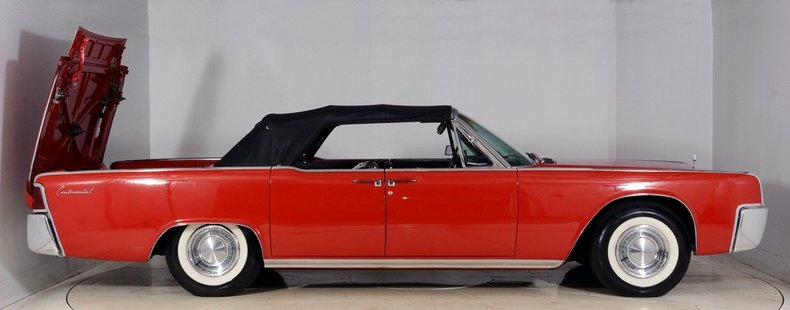 1962 Lincoln Continental Image 58