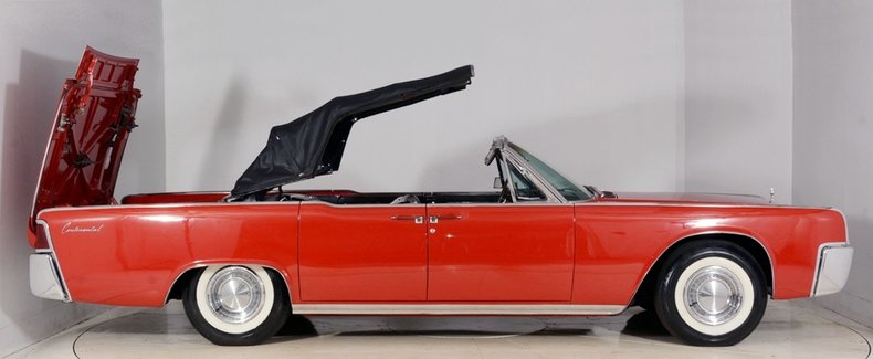 1962 Lincoln Continental Image 59
