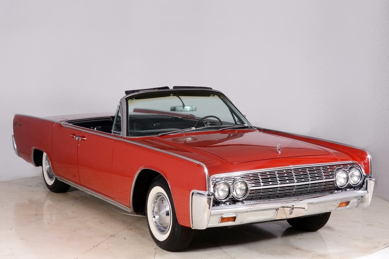 1962 Lincoln Continental Image 68
