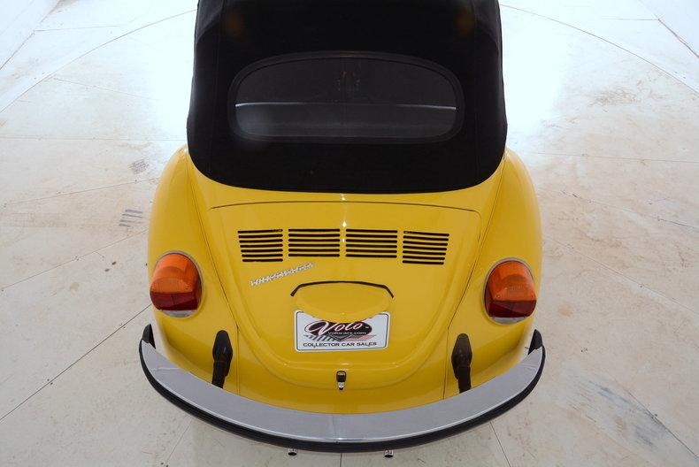 1974 Volkswagen Super Beetle Image 12