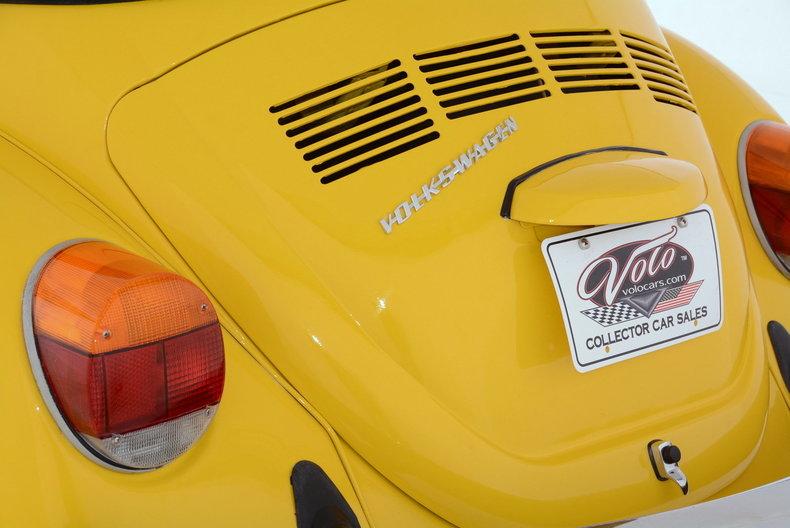 1974 Volkswagen Super Beetle Image 13
